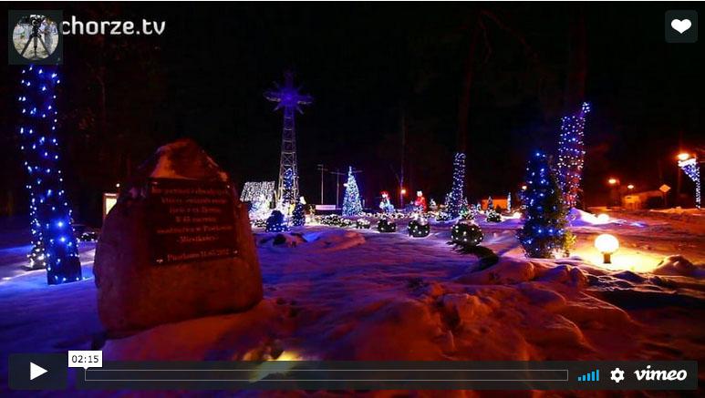 Boże Narodzenie film z życzeniami