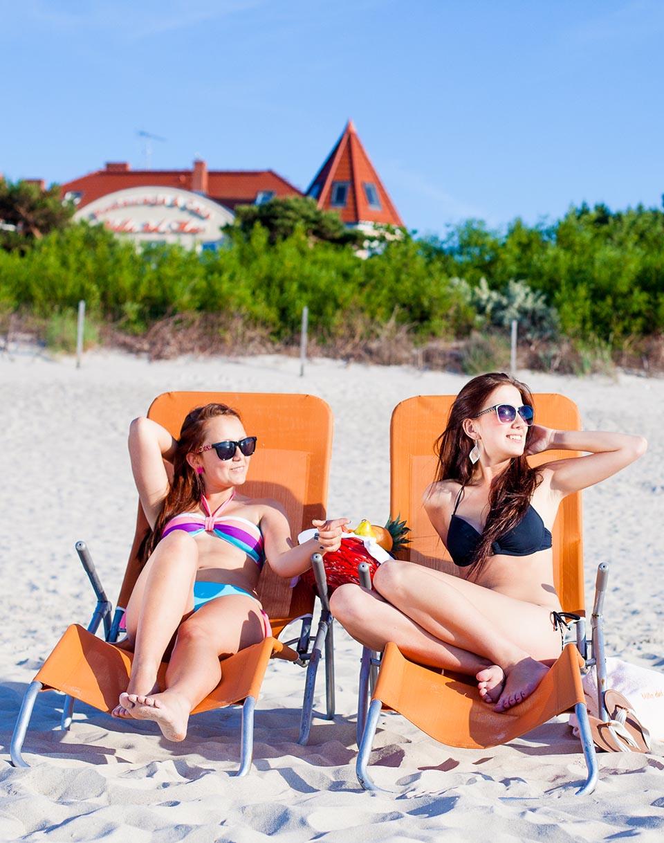 Hotel Niechorze 30 metrów od plaży  Villa del Mar.